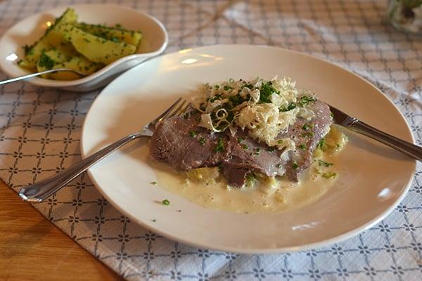 Gasthaus Stark Tafelspitz Meerrettich Wirsing Kartoffeln Yelp