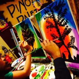 Pinot s palette alamo heights 26 photos 14 reviews for Wine and paint san antonio