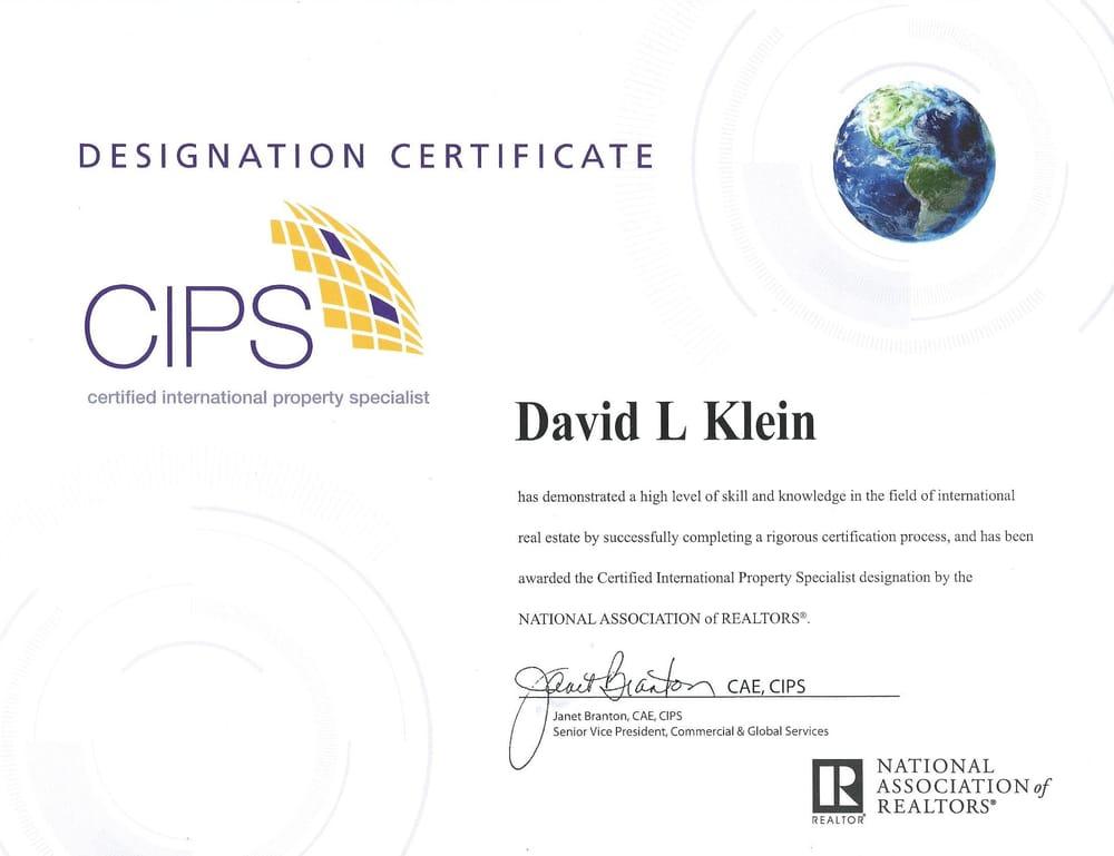 Certified International property Specialist - Yelp