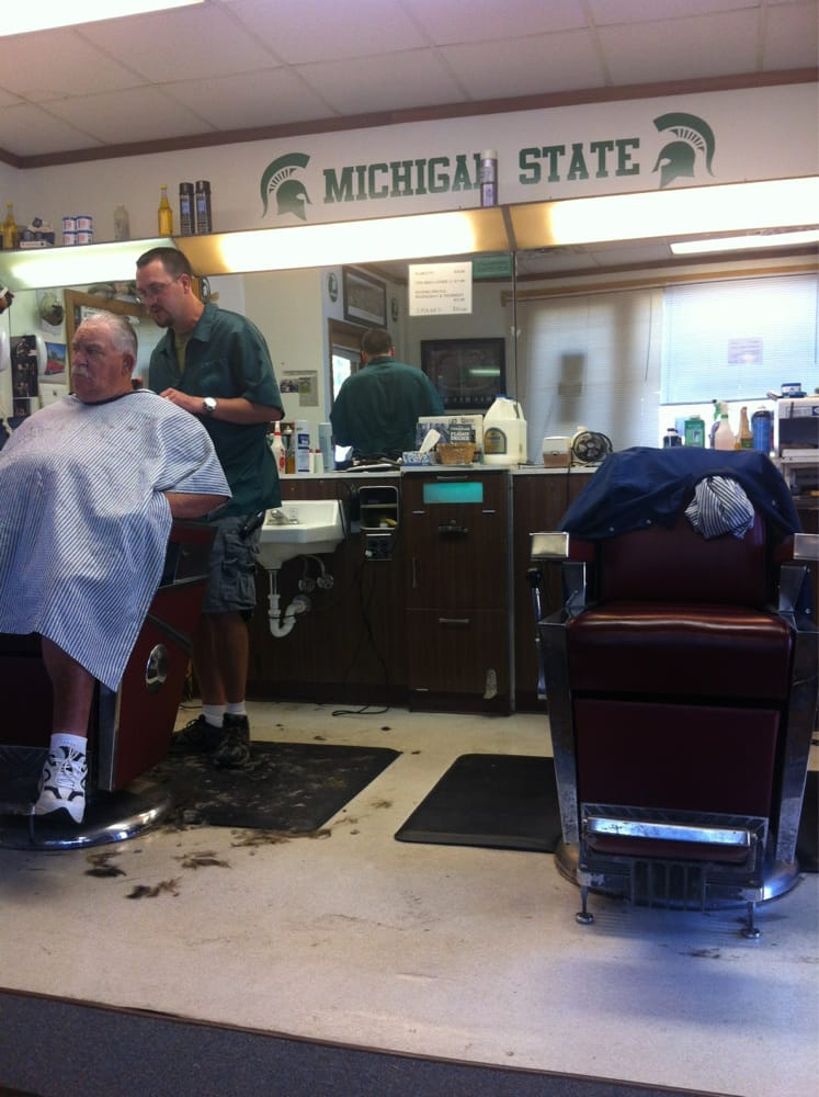 Village Barber Shop: 124 S Main St, Brooklyn, MI