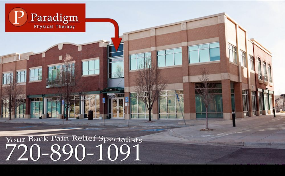 Paradigm Physical Therapy: 380 Empire Rd, Lafayette, CO