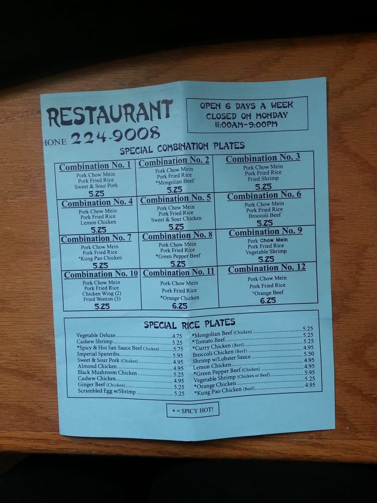 Hong Hong Chinese Restaurant Fresno Ca