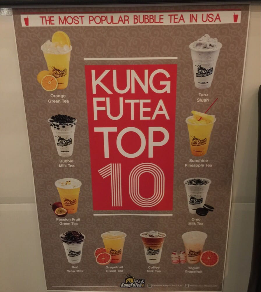 kung fu tea top 10!!! if you don't know what to get  fear not