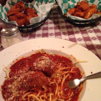 Photo Of Barbato S Italian Restaurant Erie Pa United States Spaghetti And Meat