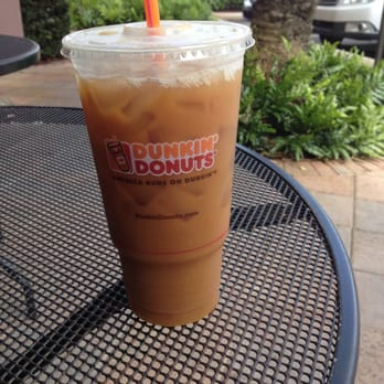 photo of dunkinu0027 donuts boca raton fl united states large iced