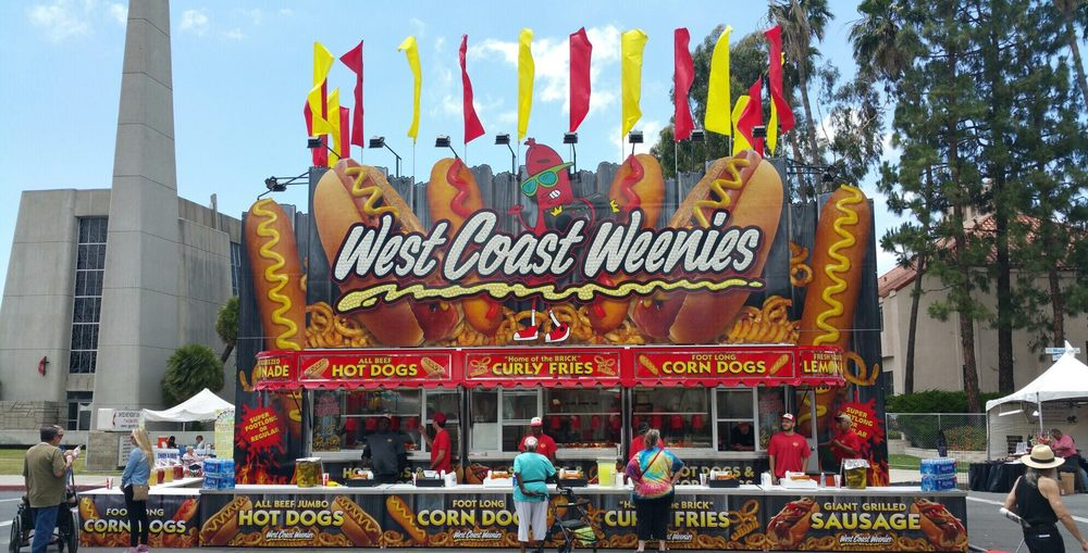 West coast weenies are better than east coast yelp for Strawberry festival garden grove