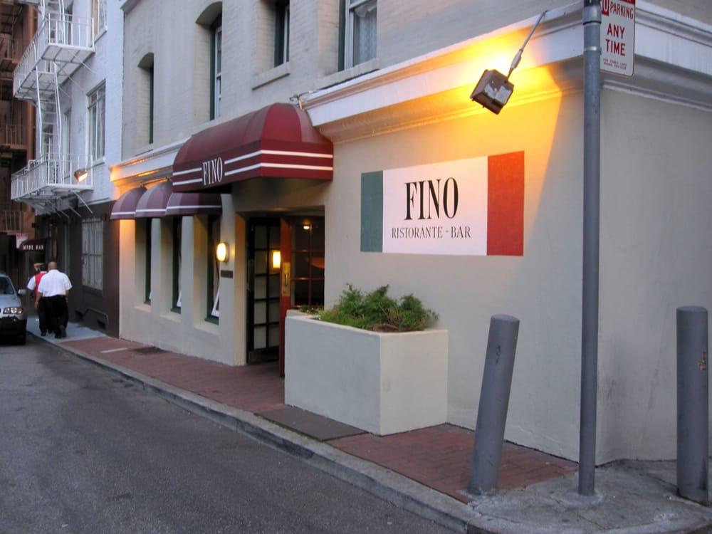 Fino Restaurant San Francisco Reviews