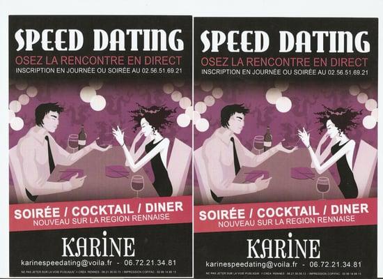 Rennes Speed Dating seksistowskie zasady randek