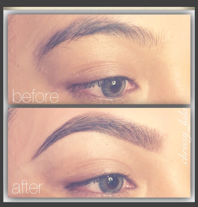 Before After Brought Full Arch Brow To Life Used Powder Duo