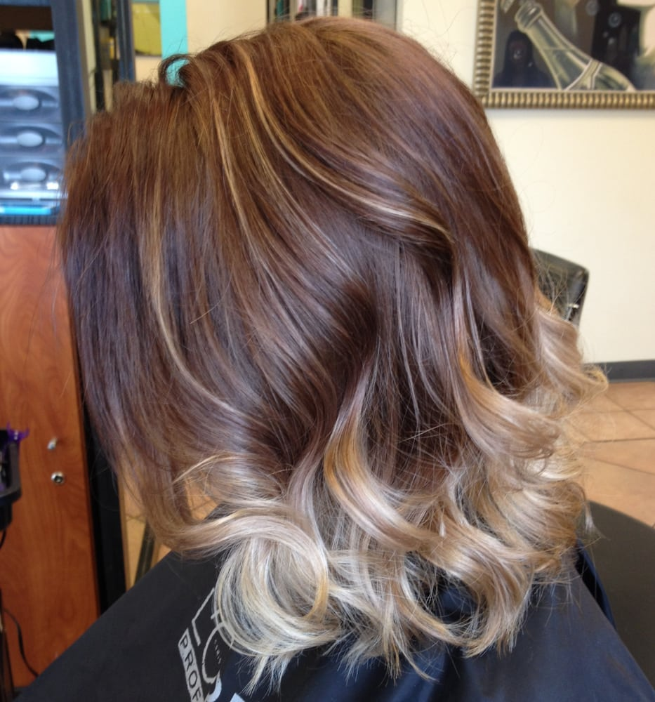 Balayage Highlights For Mid Length Hair Yelp