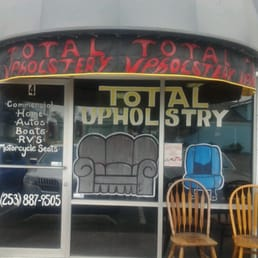 Total upholstery furniture reupholstery 4202 auburn for Furniture auburn wa