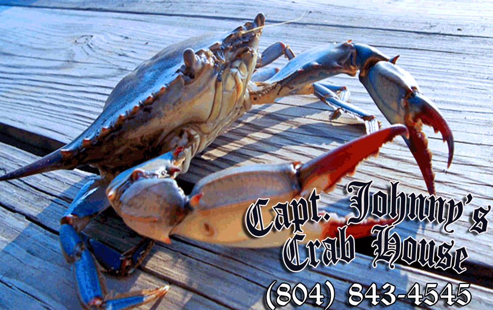 Captain Johnny's Crab House: 8275 Kentwood Ave, West Point, VA