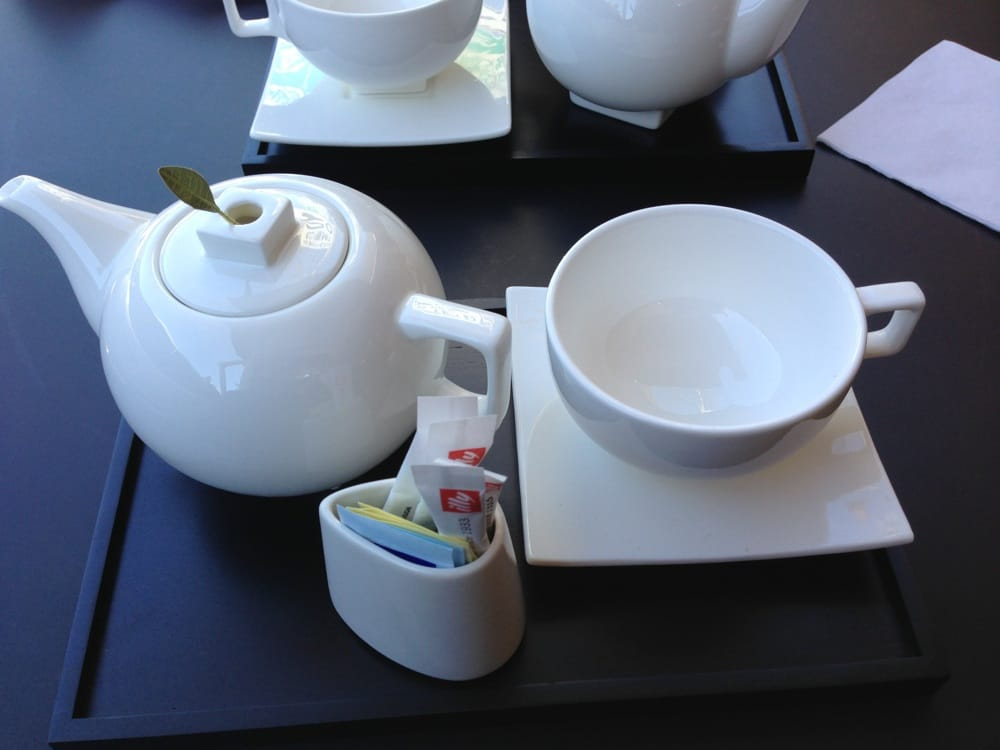Tea Is Served Very Cute On Wee Tray Yelp