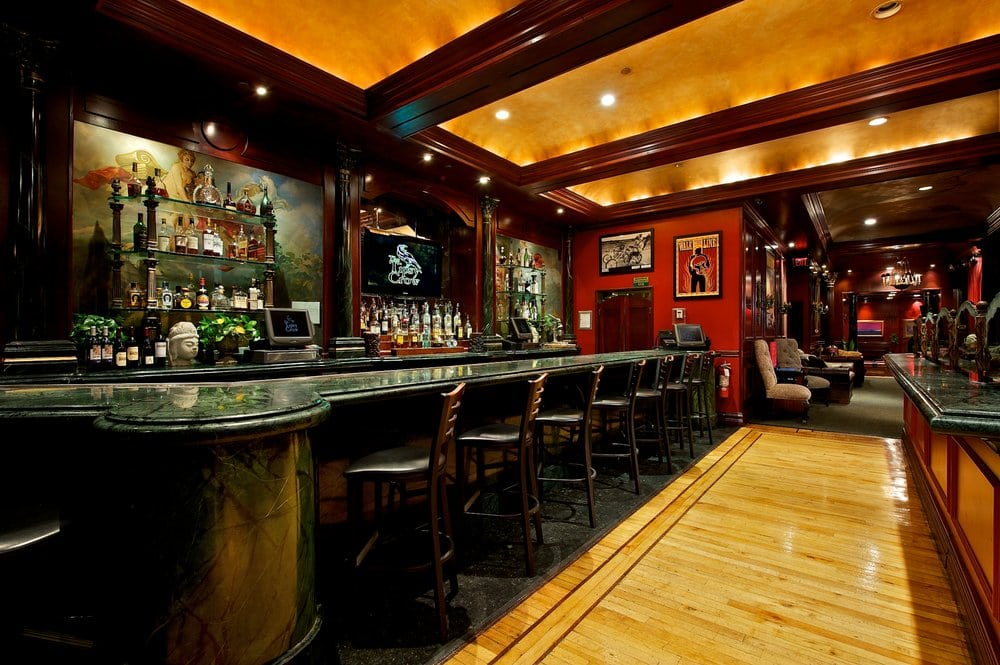 Famous green marble bar in the lounge yelp for Marble bar detroit