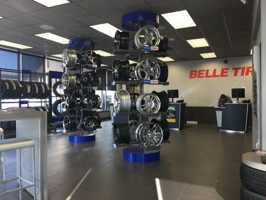 Belle Tire 3773 28th St Se Grand Rapids Mi Car Service Mapquest