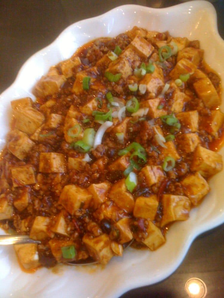 Menu For Olive Garden: Ma Po Tofu