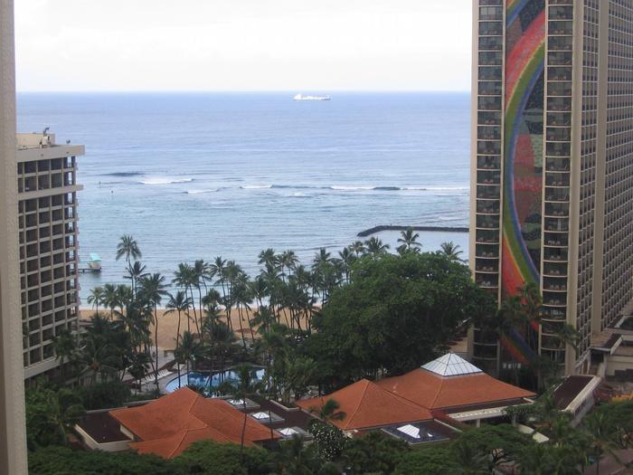 Hilton Hawaiian Village Waikiki Beach Photo Gallery: View From Kalia Tower