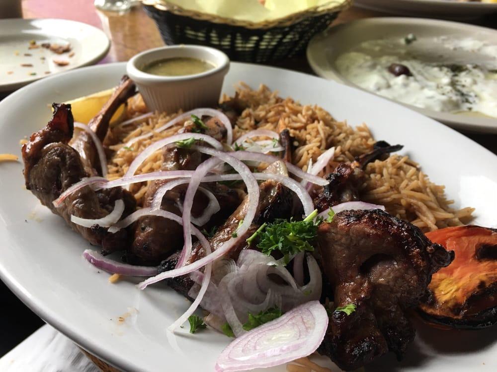 Choban kabob which is marinated kamb yelp for Ariana afghan cuisine menu