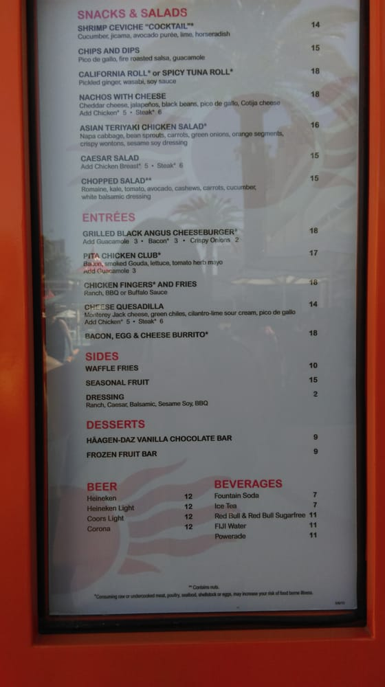 Photo Of Encore Beach Club Las Vegas Nv United States Food Prices