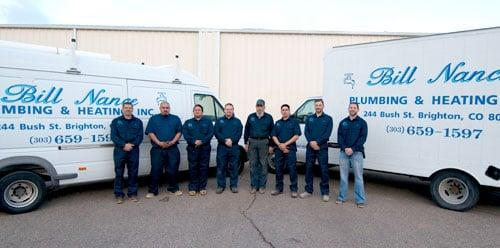 Bill Nance Plumbing & Heating: 244 Bush St, Brighton, CO