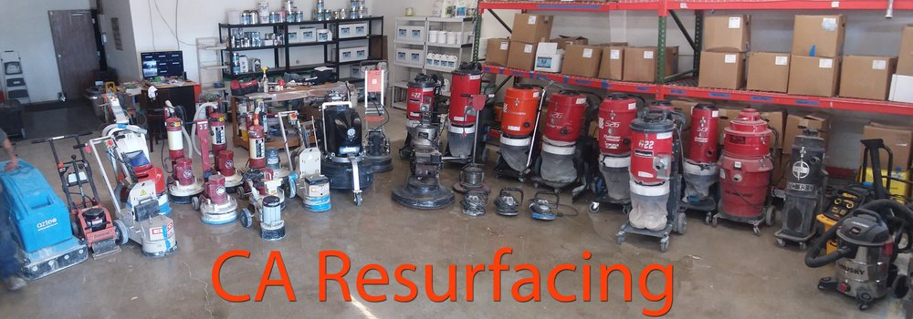 CA Resurfacing Garage Floor Experts