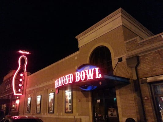 Diamond Bowl Billiards 218 N Osage St Independence Mo Bowling