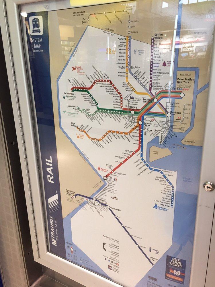 NJ Transit Map (May 2017) - Yelp