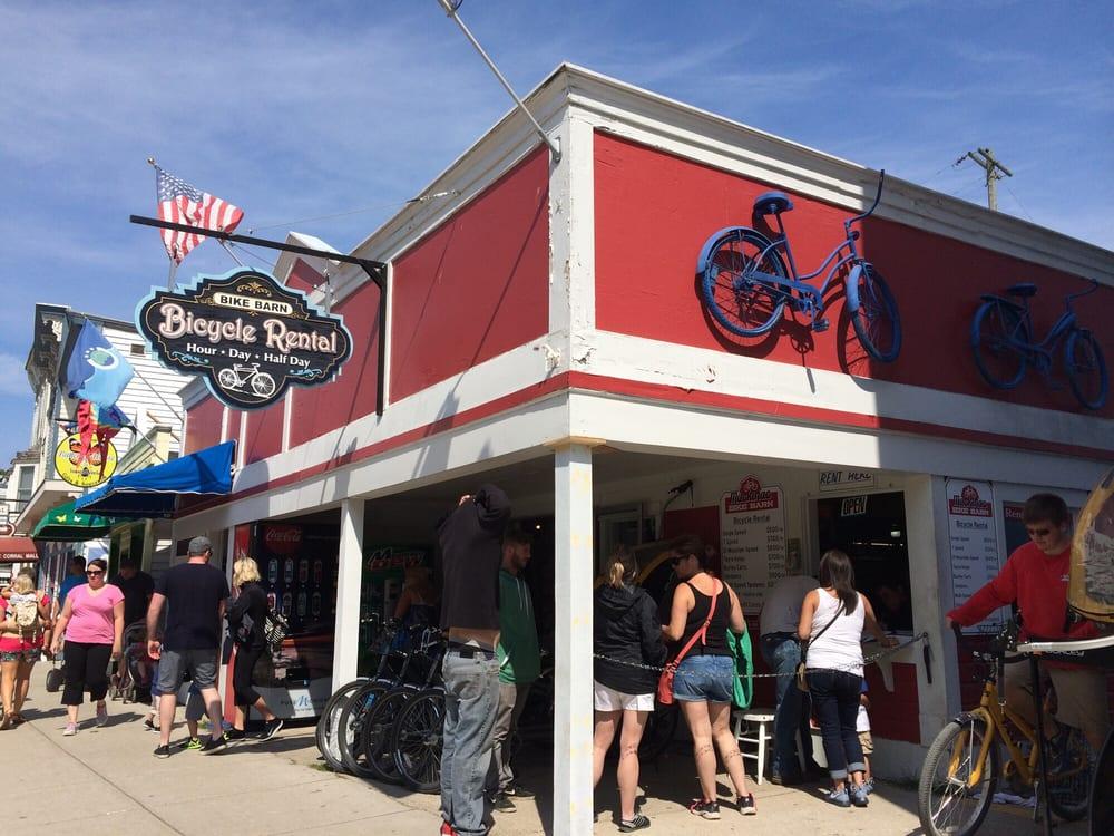 Amenities - Mackinac Island, MI - Island House Hotel |Mackinac Island Bicycle Cafe