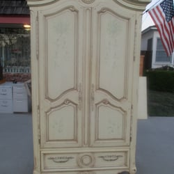 Photo Of Cheap Vintage   Lomita, CA, United States. French Provincial  Armoire /