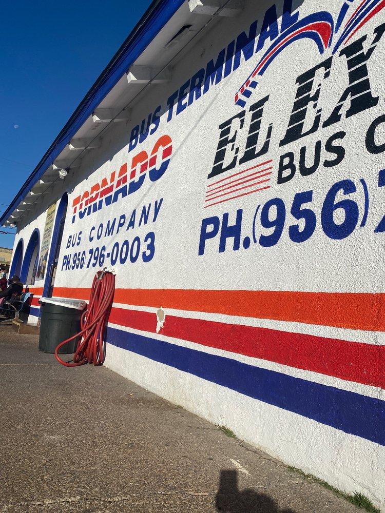 Tornado Bus Company: 919 San Bernardo Ave, Laredo, TX