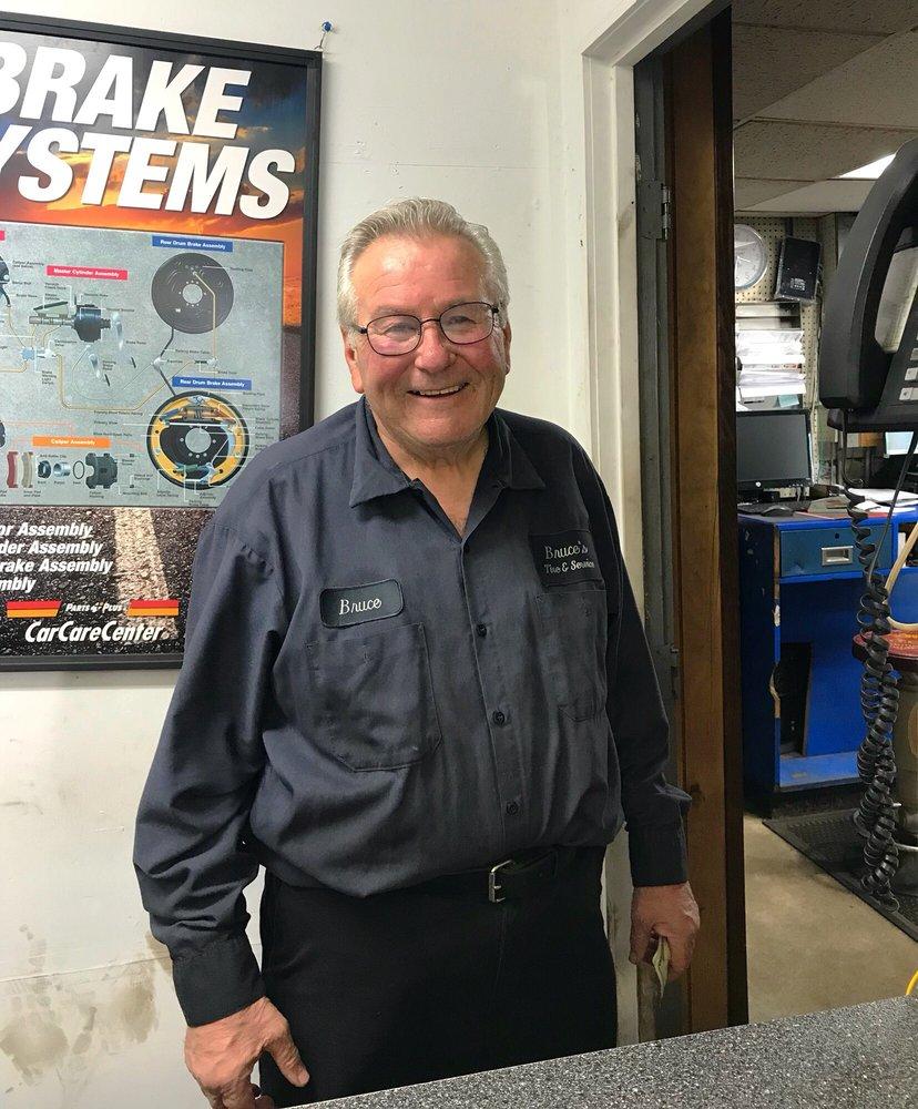 Bruce's Tire & Service: 36 Dudley St, Arlington, MA