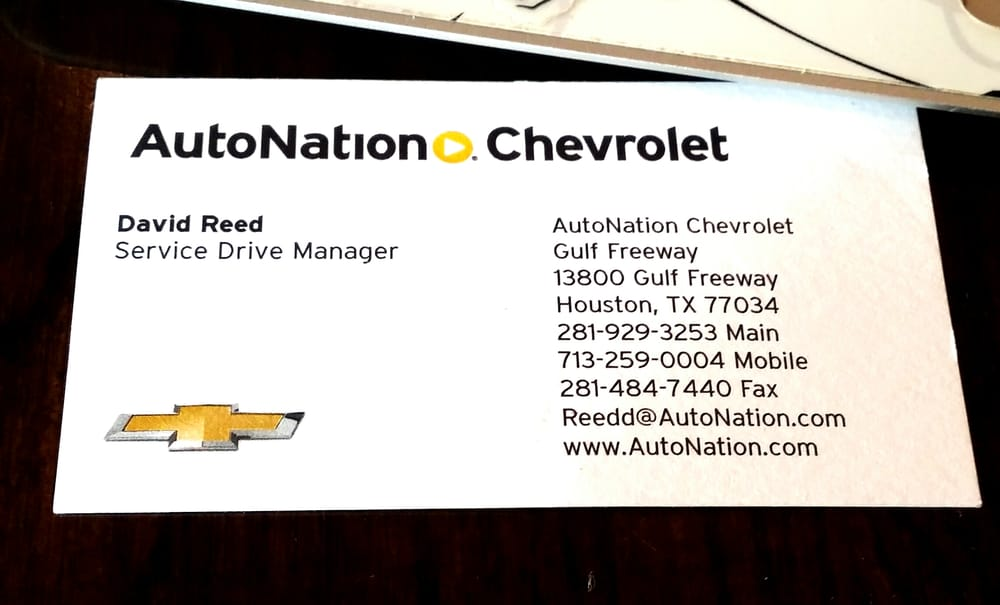 AutoNation Chevrolet Gulf Freeway   Dealership Exterior   Yelp