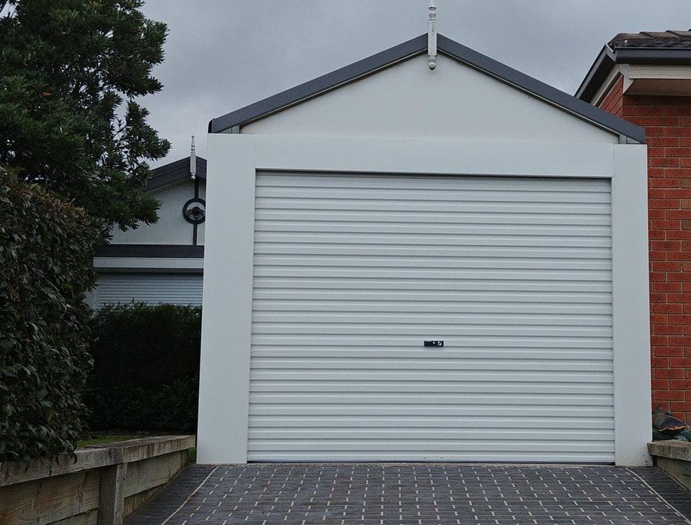 Photo of Everlift Garage Doors - Carrum Downs Victoria Australia. Carport conversion with a & Carport conversion with a Surfmist colorbond Roller Door. - Yelp