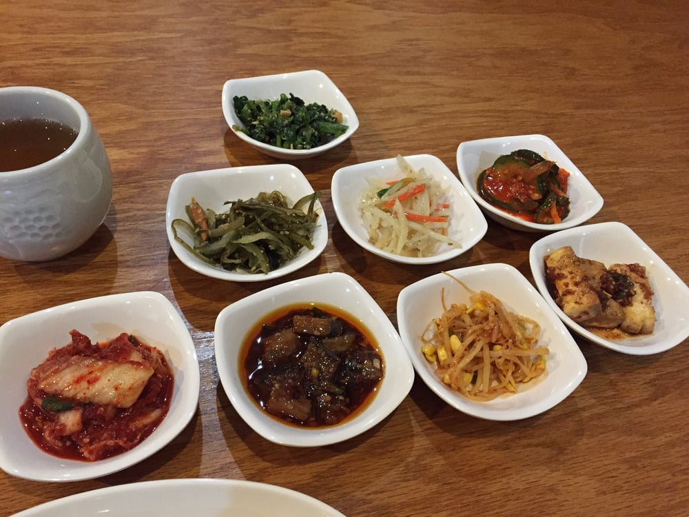 Banchan yelp for Asiana korean cuisine restaurant racine