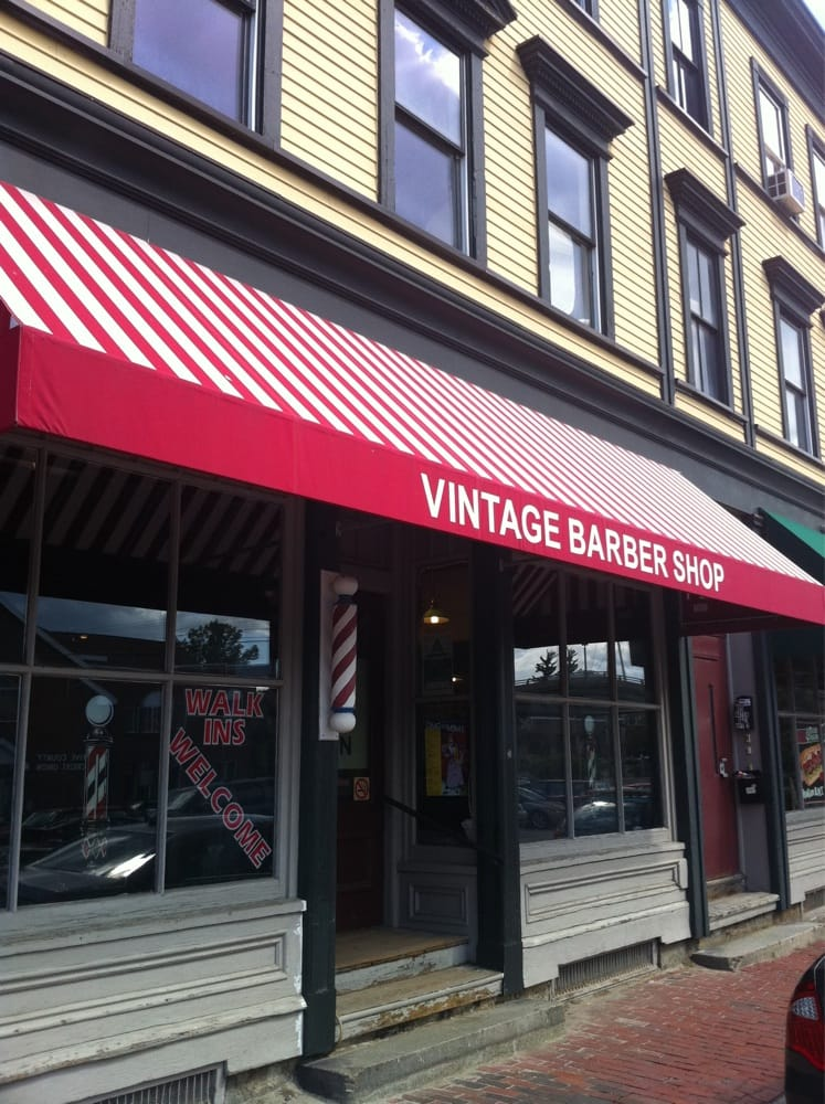 Vintage Barber Shop: 197 Water St, Bath, ME