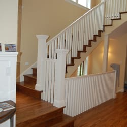 Photo Of Shorewood Hardwood Flooring   Des Moines, WA, United States.  Custom Stair