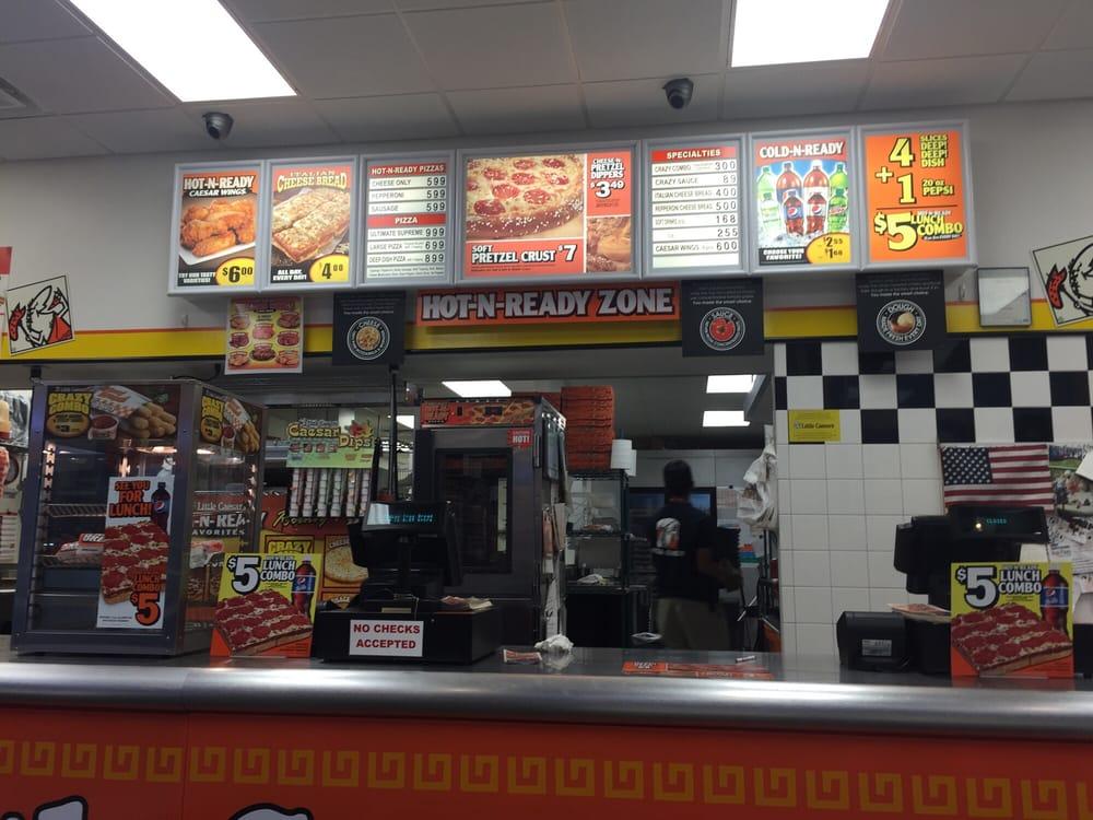 Little Caesars Pizza Pizza 1810 E Kansas Ave Garden