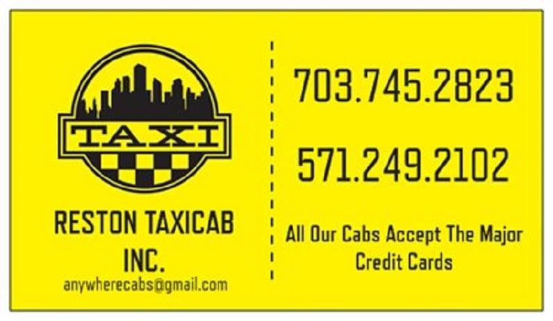 First Taxicab: 1801 Presidents St, Reston, VA