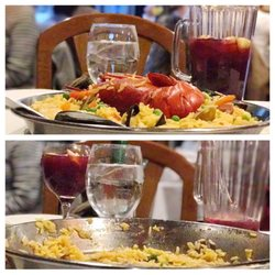 Photo Of Don Pepe Newark Nj United States Paella Before And After