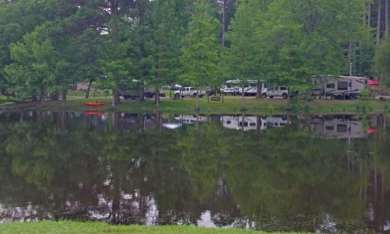 White Oak Lake State Park: 563 Hwy 387, Bluff City, AR