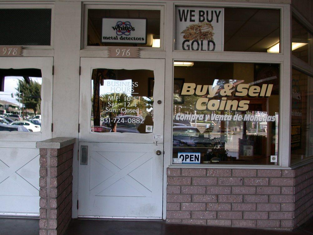 Fuentes Coins & Metal Detectors: 976 E Lake Ave, Watsonville, CA