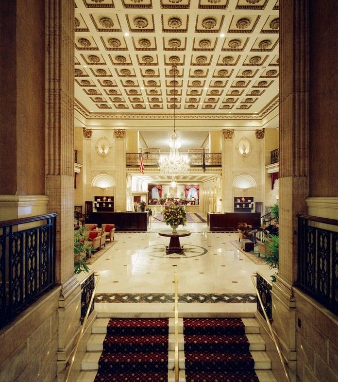 The Roosevelt Hotel - New York, NY, United States. The Roosevelt Hotel Lobby