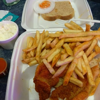 Photo Of Fresh Catch Seafood Express Cleveland Oh United States Catfish Lunch