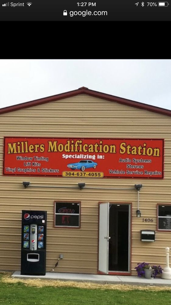 miller's modification Station: 1406 Harrison Ave, Elkins, WV
