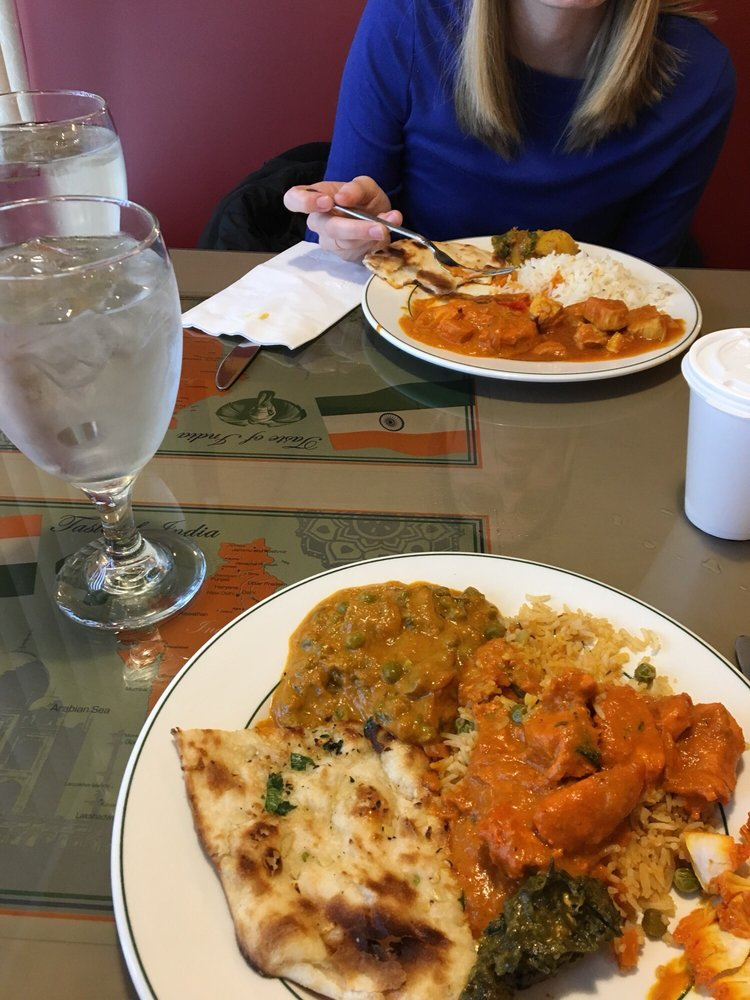 Food from Bombay Curry & Grill