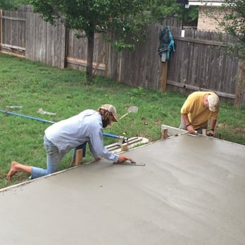 Photo Of Austin Concrete Construction   Austin, TX, United States. Making A  Smooth