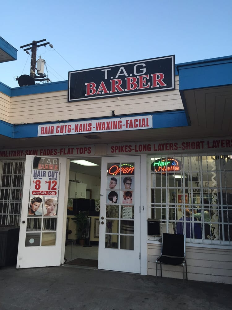 Tag Barber Hair Salons 4651 University Ave City Heights San