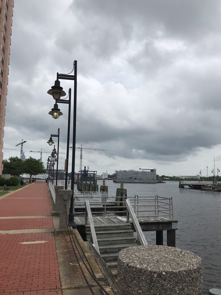 Elizabeth River Ferry: High St & Waterside, Norfolk, VA