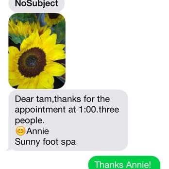 Sunny Foot Spa Allen