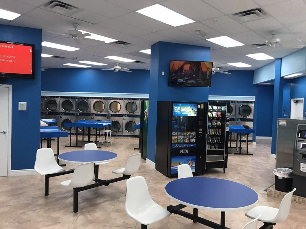 Mega Laundry Mart: 18400 NW 75th Pl, Hialeah, FL